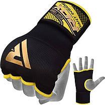 Бинт-перчатка RDX Inner Gel Black L, фото 2