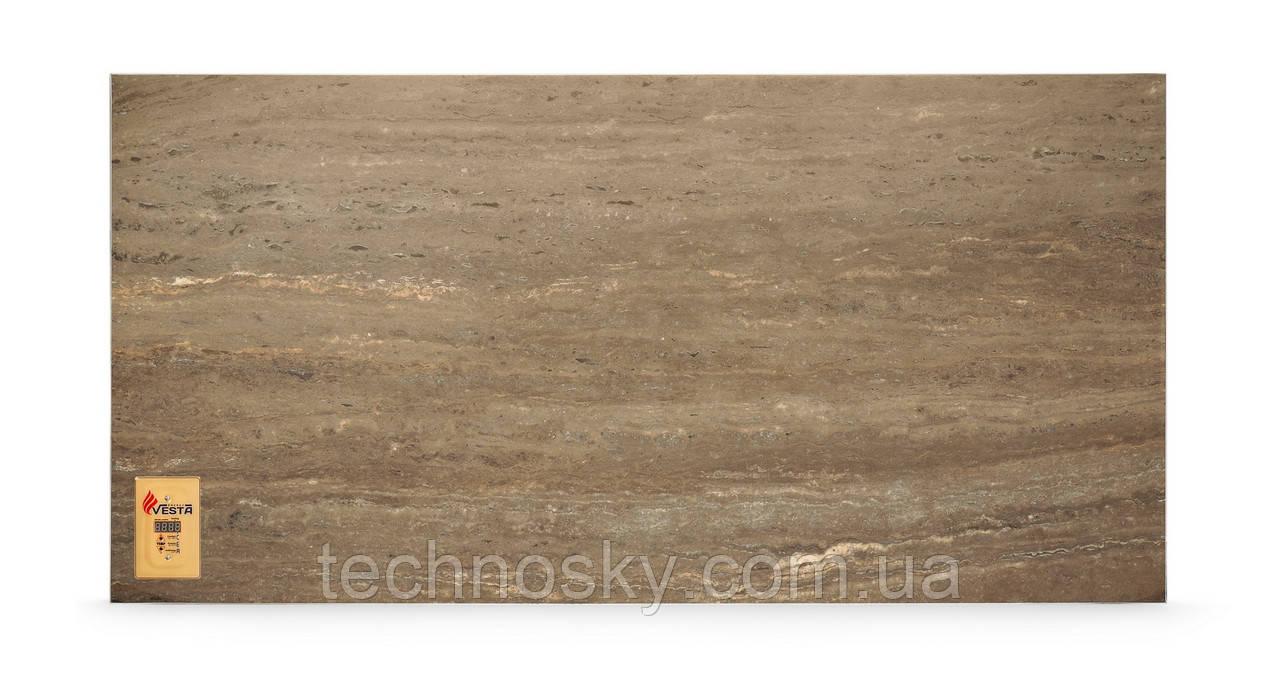 Керамический инфракрасный обогреватель VESTA PRO 1000 каштановый мрамор