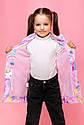 Модная демисезонная ветровка для девочки ВН-26 Размеры 116-122 Новинка 2020, фото 3