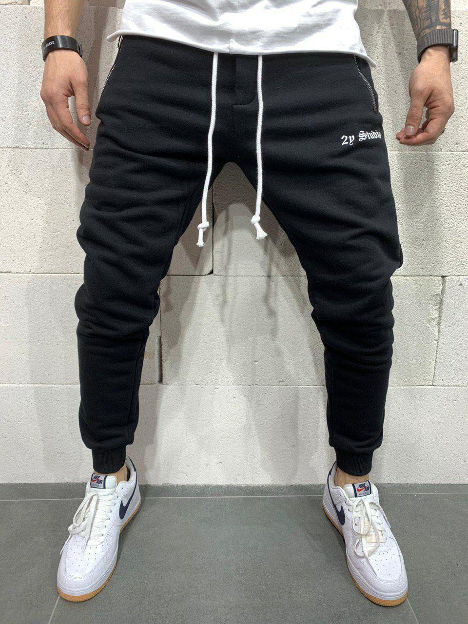 Спортивные штаны - Черные спортивные штаны черные