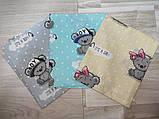 Пеленки из бязи для новорожденных арт   разные цвета., фото 2