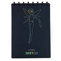 Многоразовый альбом Elfinbook Sketch A4 черный