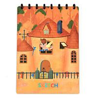 Многоразовый альбом Elfinbook Sketch A4 оранжевый