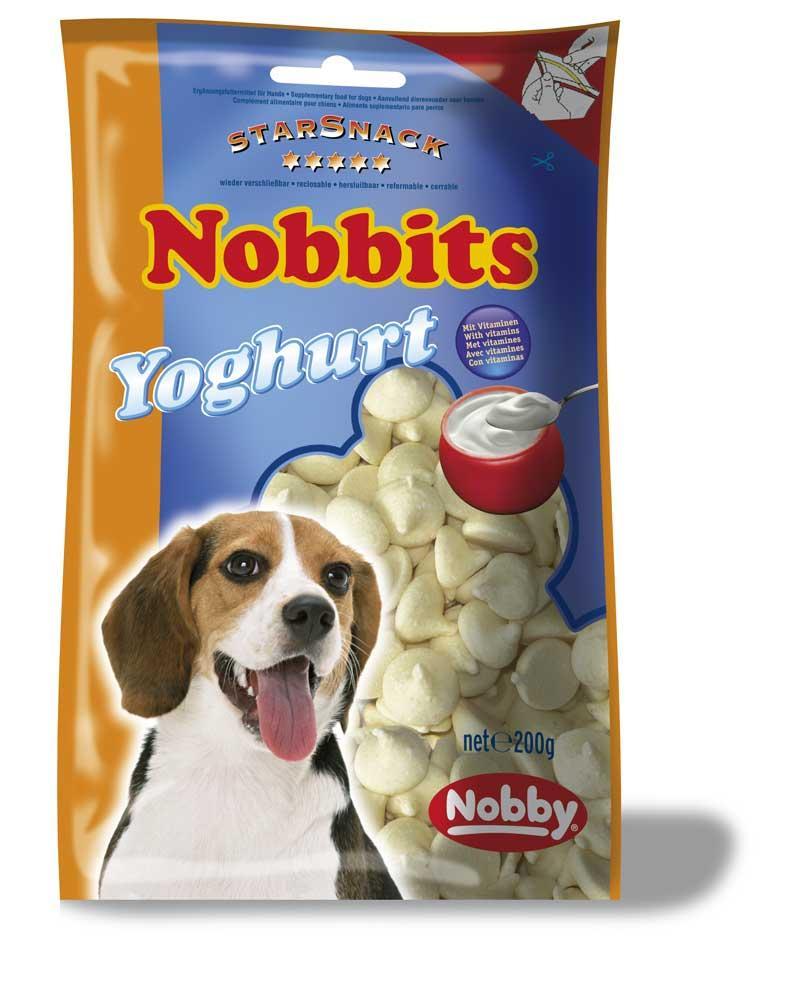 Лакомство для собак дропсы йогурт 200 гр