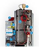 Электрический котел Bosch Tronic Heat 3500 4-6-9-12-15-18-24 кВт, фото 6