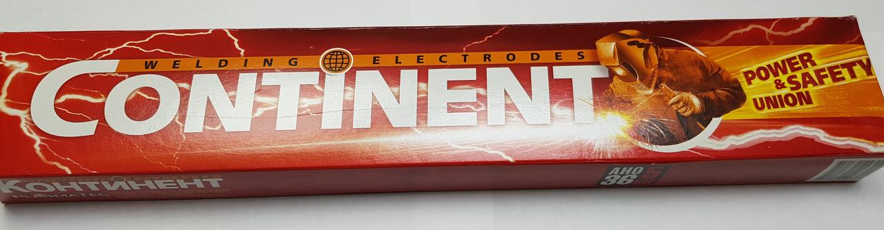 Електроди АНО - 36 TM Continent д.4 мм. 5кг - фото 2