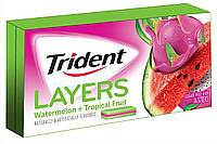 Trident Layers Watermelon Tropical Fruit