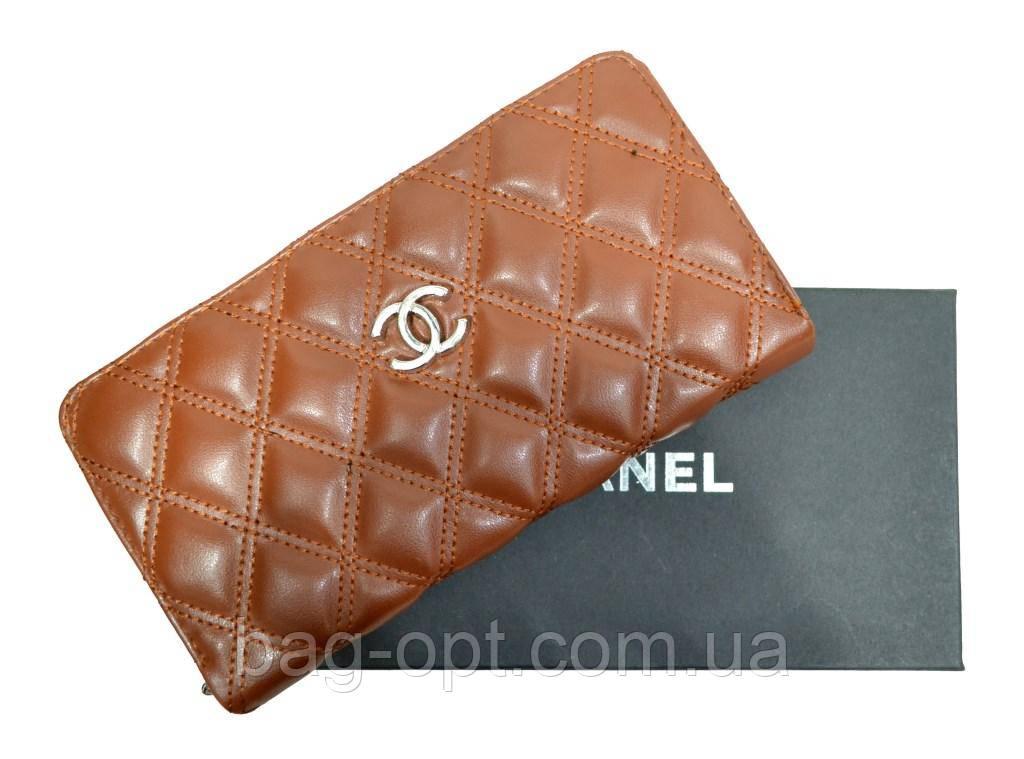 Женское портмоне Сhanel (11x20x3 см)