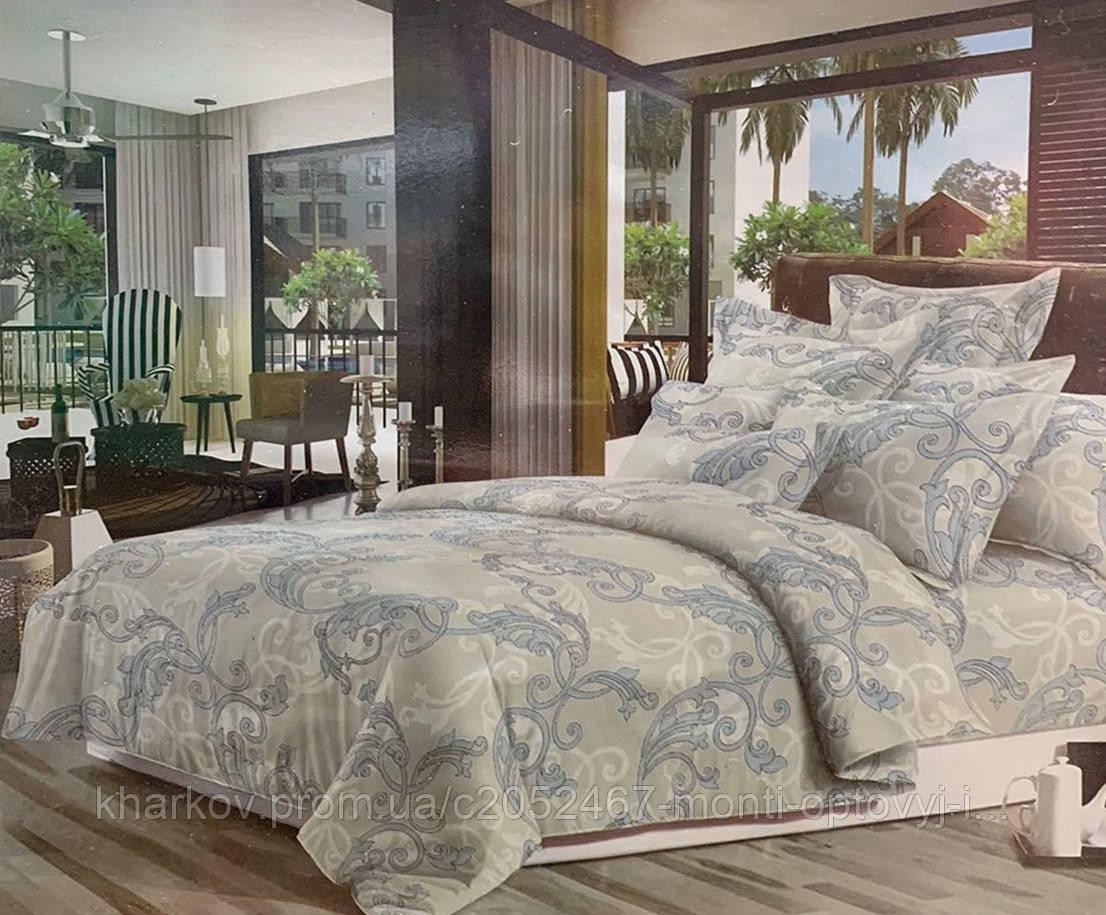 Элегантный полуторный комплект постельного белья