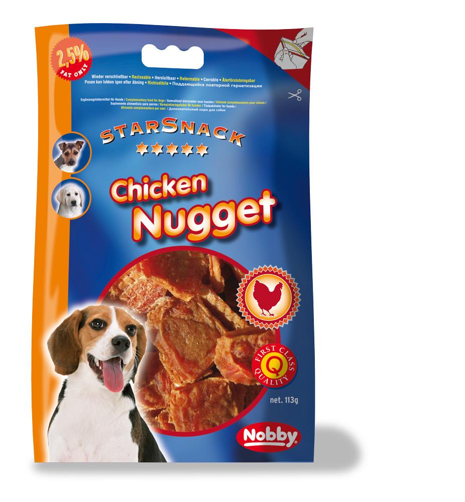 Лакомство для собак Куриное лакомство Nugget 113 г
