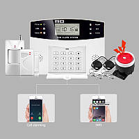 Домашняя сигнализация G2B для дома,дачи,офиса,гаража.IOS Android PSTN  GSM