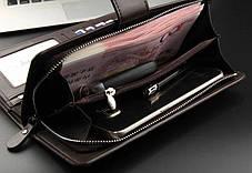 Мужской портмоне Baellerry business S1063 черный / кошелек / клатч, фото 2