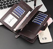Мужской портмоне Baellerry business S1063 черный / кошелек / клатч, фото 3