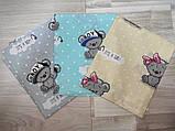 Пеленки из бязи для новорожденных арт   разные цвета., фото 8