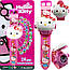 Іграшка Дитячі годинники з проекцією Hello Kitty,наручні годинники для дівчинки Хелоу Кітті з проектором, фото 2