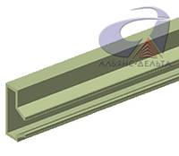 Вставка Алюминиевая L=1220мм для экономпанели
