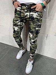 😝 Джинсы - Камуфляжные мужские джинсы