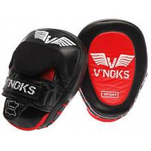 Боксерські лапи V'Noks Fuoco Red