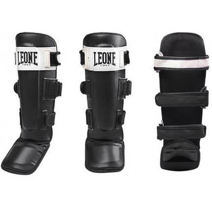 Защита голени Leone Shock Black L, фото 2
