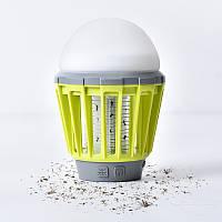 Инновационный мощный фонарь для кемпинга Mosquito Killer (Лампа от комаров)