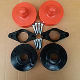 Проставки полиуретановые Шкода Суперб 2001-2008 Skoda Superb 2001-2008 для увеличения клиренса, фото 4