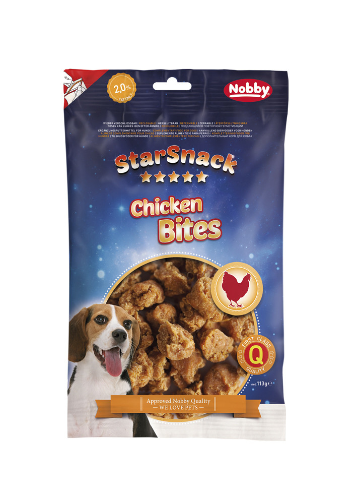 Лакомство для собак Chicken Bites 113 г