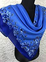 Шерстяной платок в украинском стиле, фото 1
