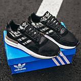 Чоловічі кросівки Adidas ZX 500 Grey, фото 2