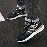 Чоловічі кросівки Adidas ZX 500 Grey, фото 4