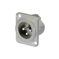 Конектор канон монтажный папа 3-контактный GCC054