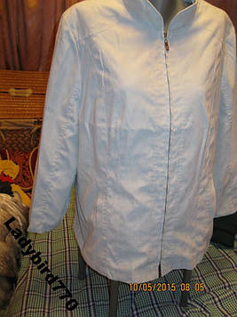 Ветровка куртка женская голубая 16 L 50