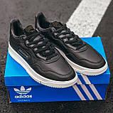 Чоловічі кросівки Adidas SC Primiera Black\White, фото 3