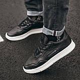 Чоловічі кросівки Adidas SC Primiera Black\White, фото 5