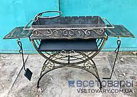 Мангал кованный на 8 шампуров + кочерга и совок, фото 1