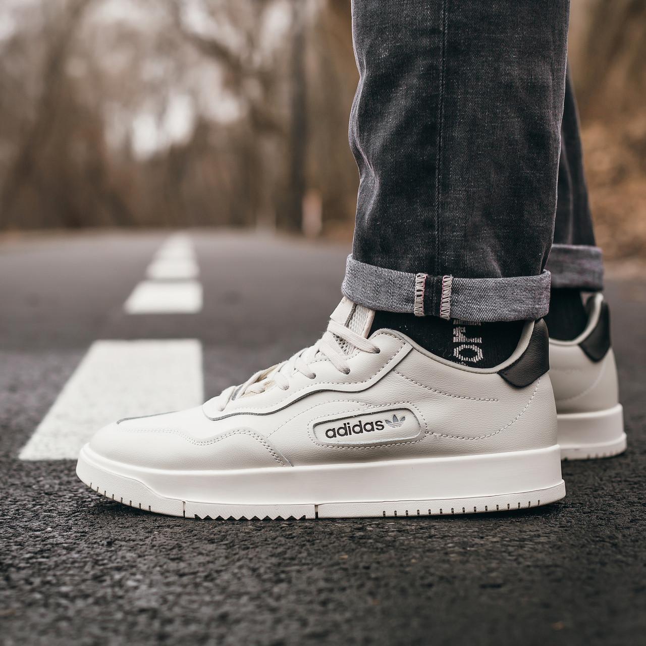 Мужские кроссовки Adidas SC Primiera White Milk
