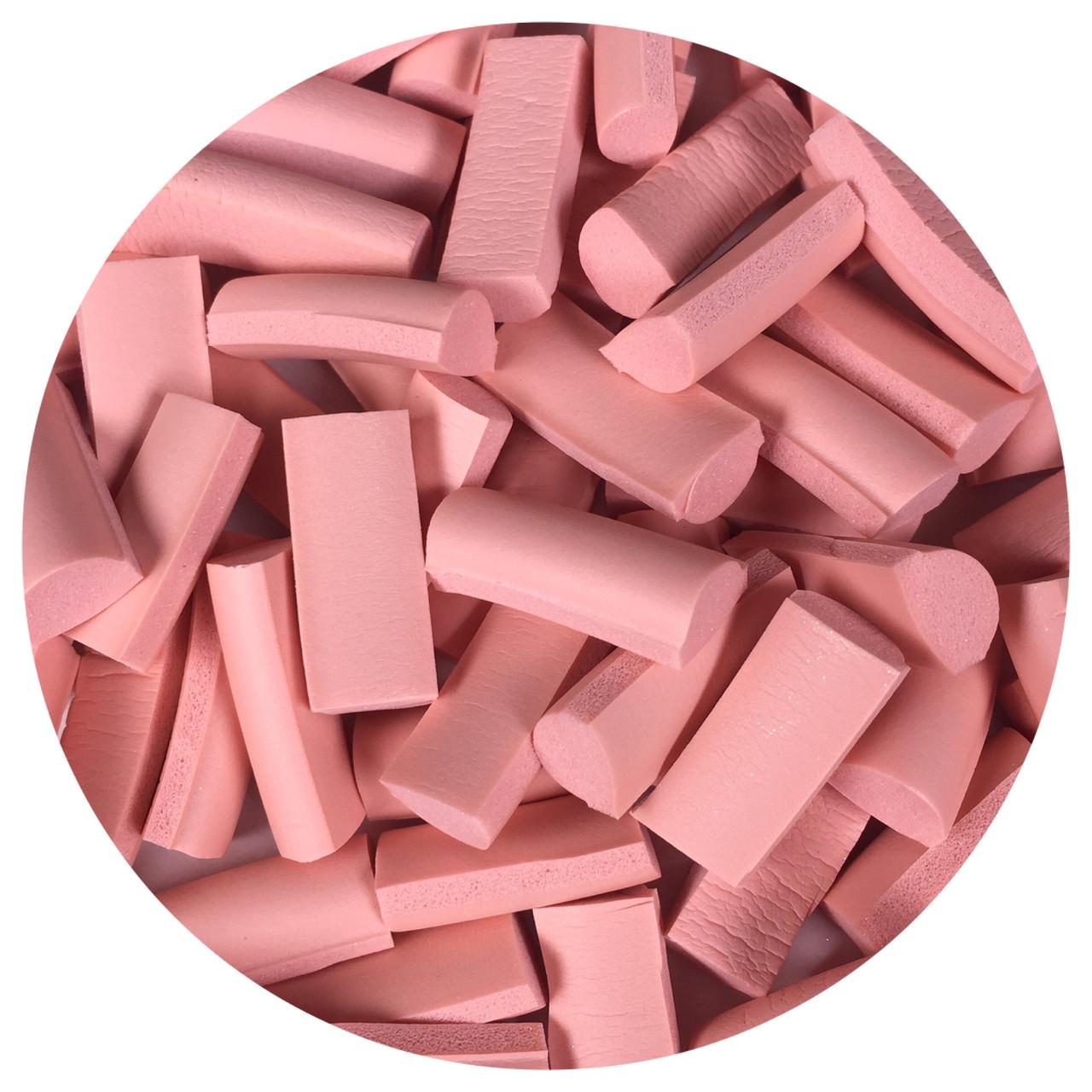 Foam chunks ніжно-рожеві від 15 шт