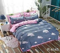 Полуторное постельное белье с компаньоном Ранфорс (R4145)