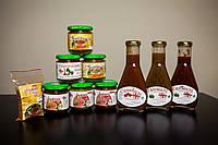 Большой набор грузинских соусов и специй