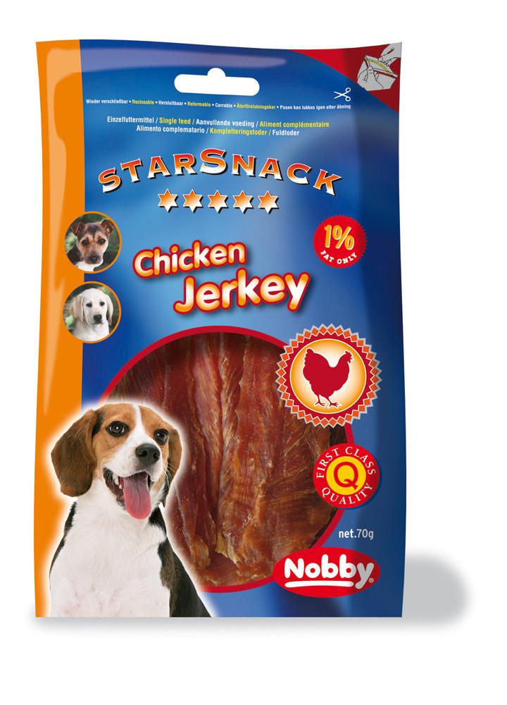 Лакомство для собак куриное филе 70г, Nobby