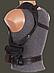 Кобура ПМ оперативная формованная (кожа, черная), фото 2