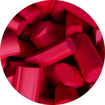 Foam chunks красные  (30 шт.)
