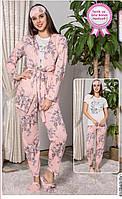 Шикарный Комплект Домашней Одежды Для Девушки Размер M (44)