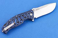 Складной нож от SAN REN MU KNIVES, мощный клинок, и массивная, надёжная рукоять, и, особенно, предохранитель, фото 1