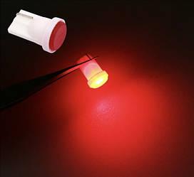 T10 COB LED W5W лампочка автомобільна - червона