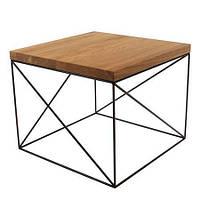 Кофейный журнальный столик в стиле LOFT (NS-646)