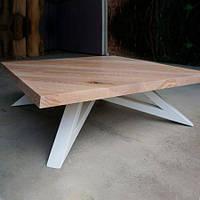 Кофейный журнальный столик в стиле LOFT (NS-649)