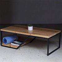 Кофейный журнальный столик в стиле LOFT (NS-650)