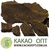 Какао тертое Cargill, Кот-д Ивуар 100% натуральный шоколад, монолит, 1 кг.