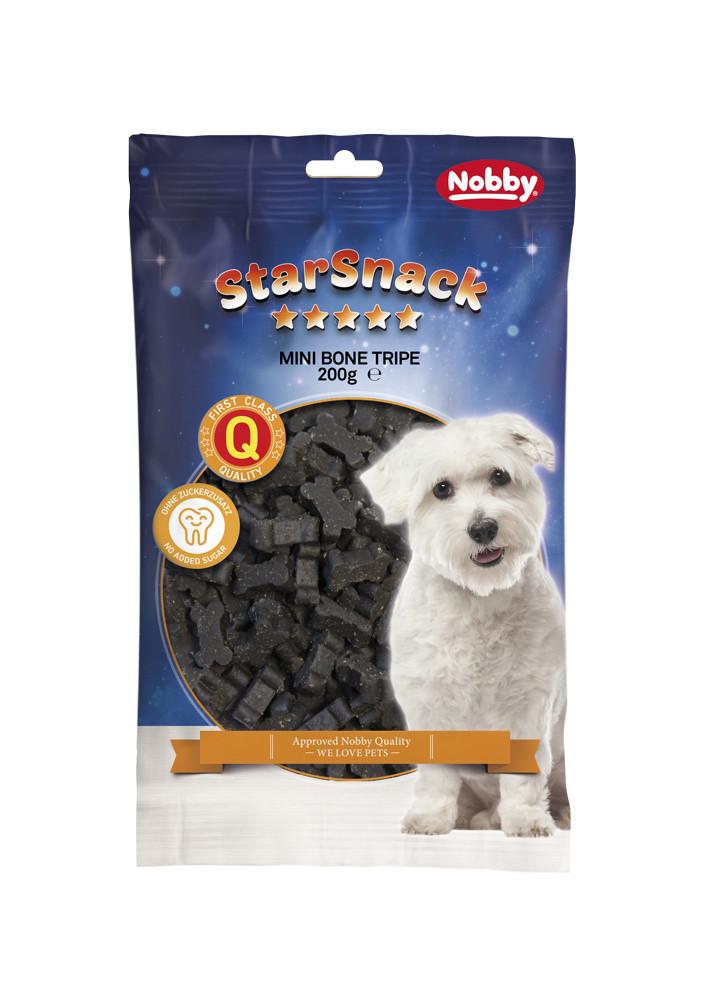 Лакомство для собак мини косточки с рубцом 200г, Nobby