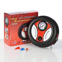 Мощный Автокомпрессор для Быстрой подкачки колес Air Compressor DC12V. Лучшая Цена!